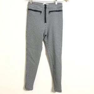 URBAN OUTFITTERS Gingham Pants High Rise Skinny